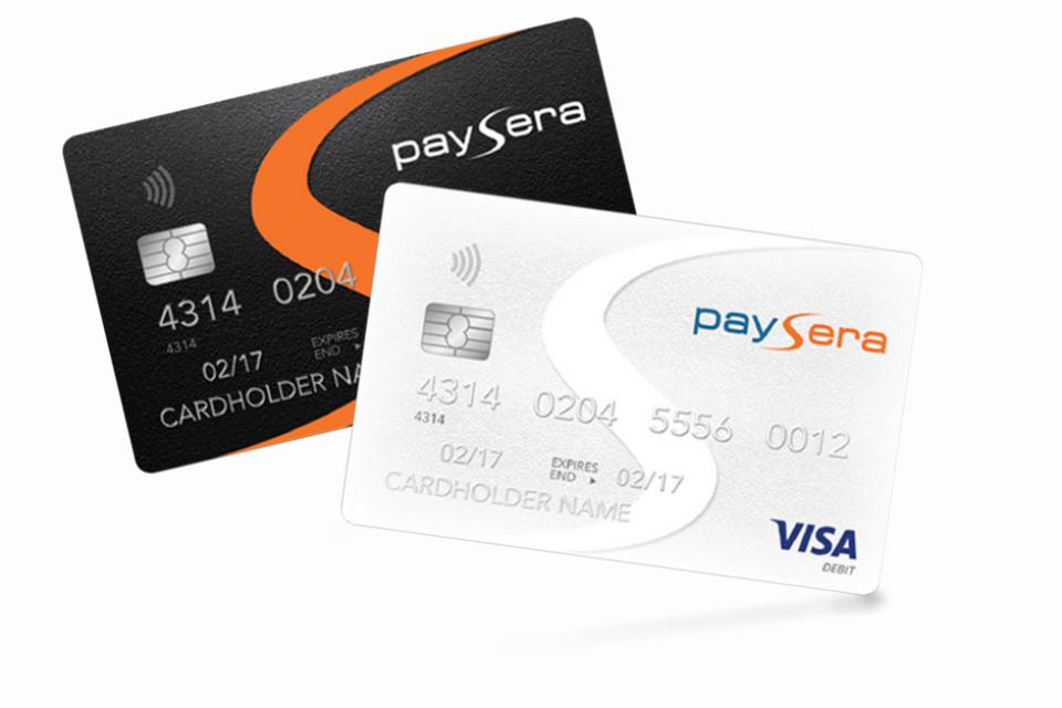 Paysera пуска нови VISA карти